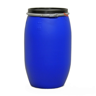 120L Open head drum - Blue - UN