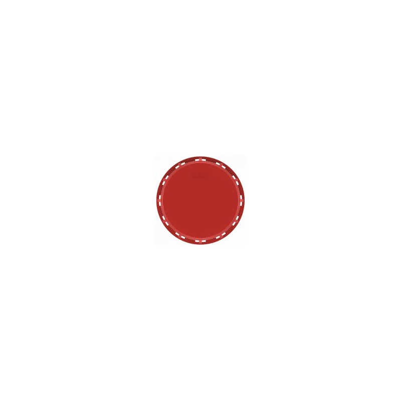Red NW225 IBC inlet cap - EPDM