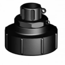 IBC Adapter S100x8 with Female thread (Polypropylene)