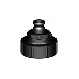 IBC Adapters S100x8 with Camlock Part A (Polypropylene)