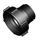 IBC Adapter M80x3 > S60x6 Male (Polypropylene)