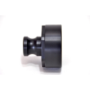 IBC Adapters 2 BSP with Camlock Part A (PE-HD)