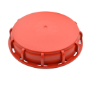 Red NW150 IBC inlet cap - EPDM