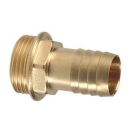 Brass Straight Hose nipple with male thread