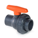 VDL PVC-U ball valve EPDM 1-gang union 2-gang glue sleeve